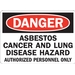 ASBESTOS CANCER AND LUNG DISEASE HAZARD